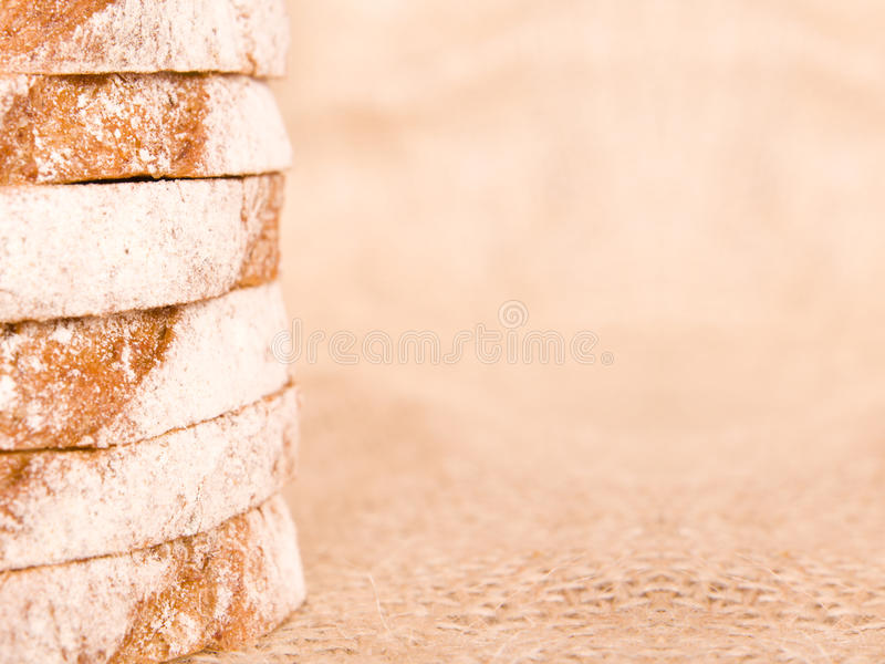 Part de pain image libre de droits