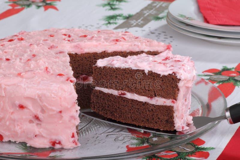 Part de portion de gâteau