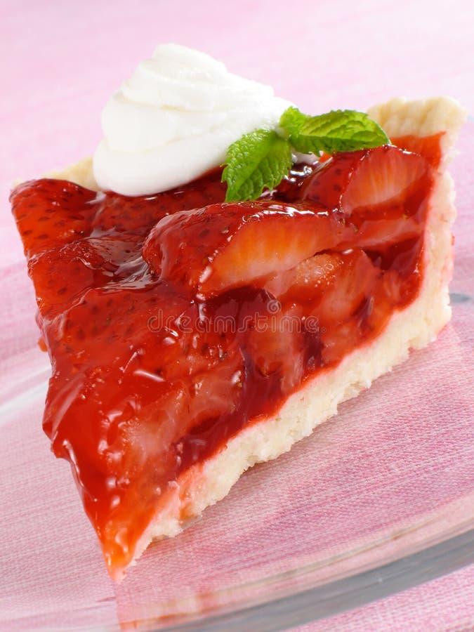 Part de secteur de fraise image stock