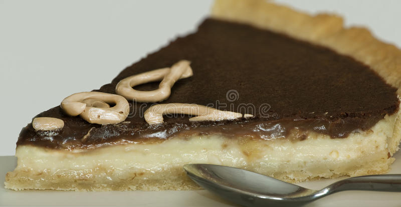 Part de tarte photographie stock