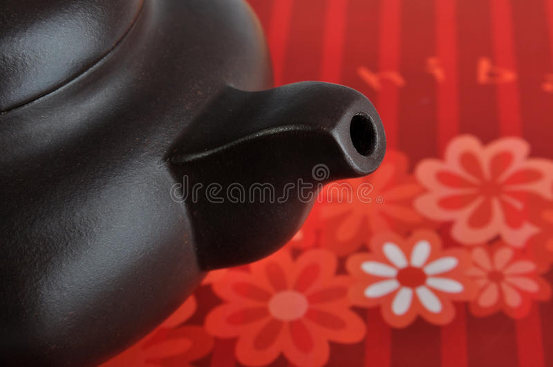 Part Detail Of Chinese Tea Pottery Stock Photography