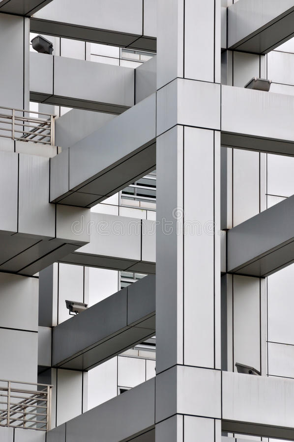 Part And Detail Of Modern Building Royalty Free Stock Photography