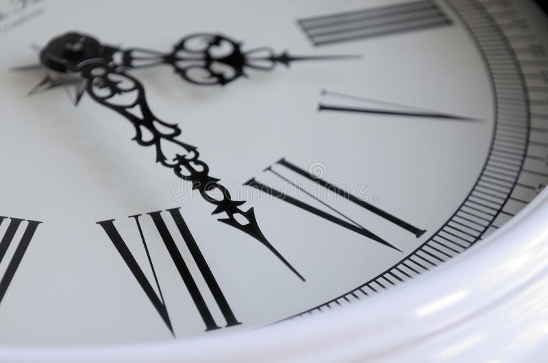 Part of the dial close-up. royalty free stock image