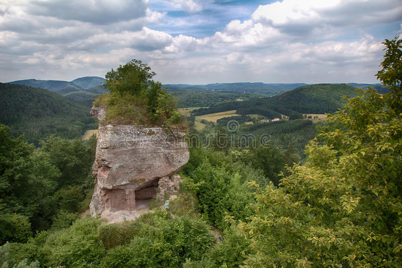 Download Part Of The Drachenfels Castle In Germany Stock Photo - Image of rock, europe: 44279878