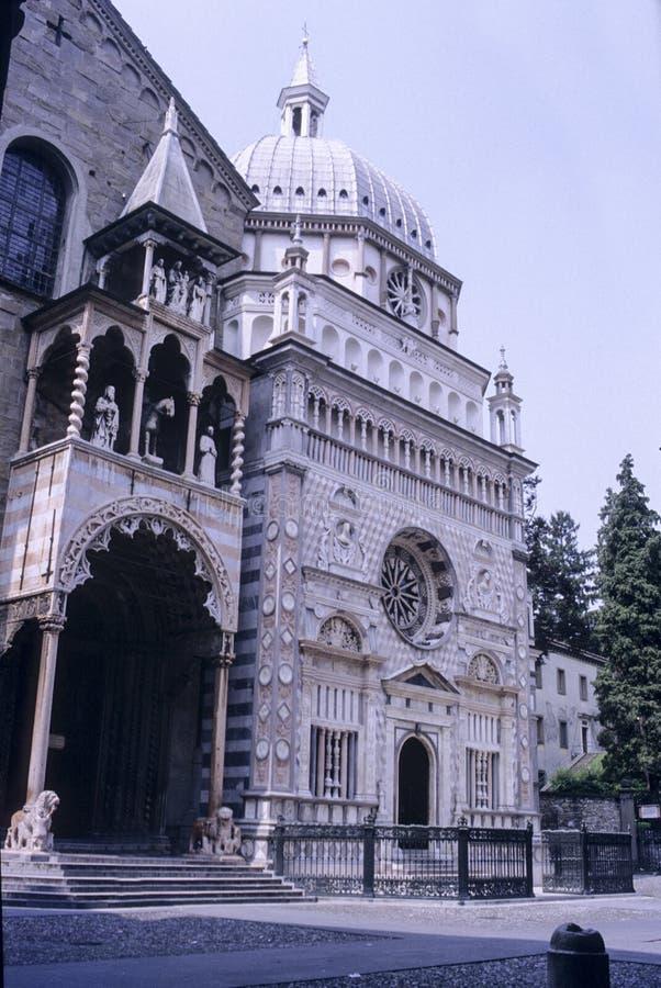 Basilica of Santa Maria Maggiore, Bergamo, Lombardia, Italy stock image