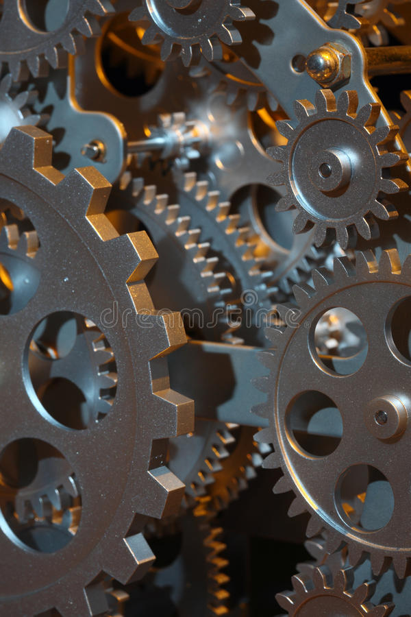 Download Part of gears. stock photo. Image of metallic, accuracy - 10932340