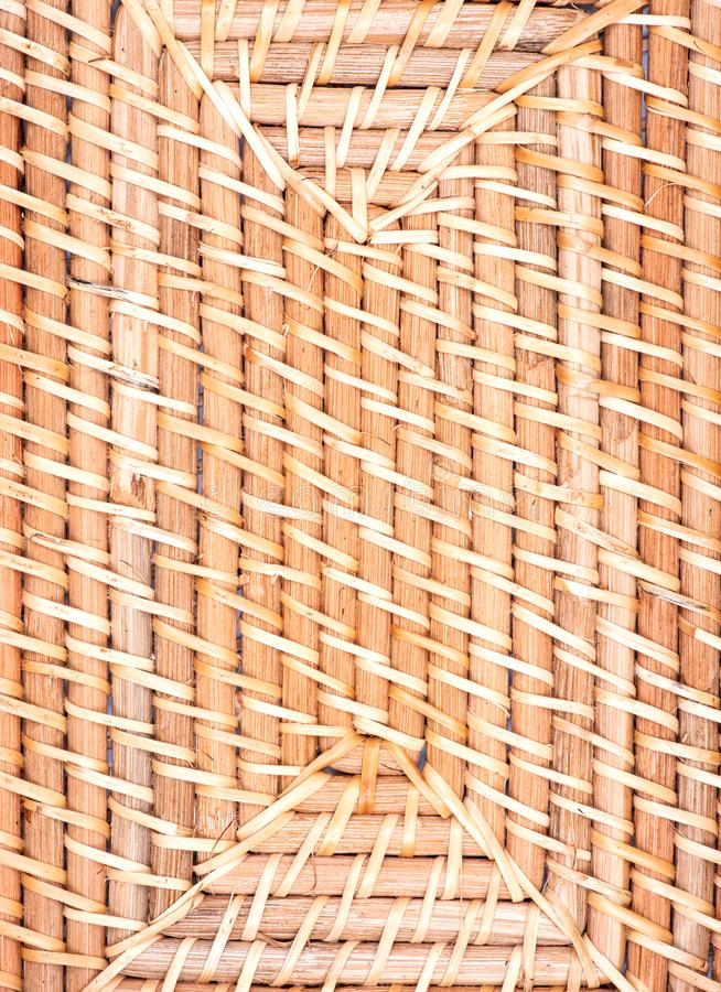 Part of handwoven in Indonesia exotic and functional rattan storage basket like background. Part of handwoven in Indonesia exotic and functional rattan storage stock photos