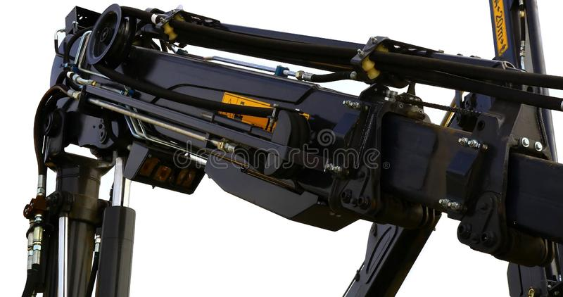 Download Part of the harvester stock image. Image of transport - 16220577