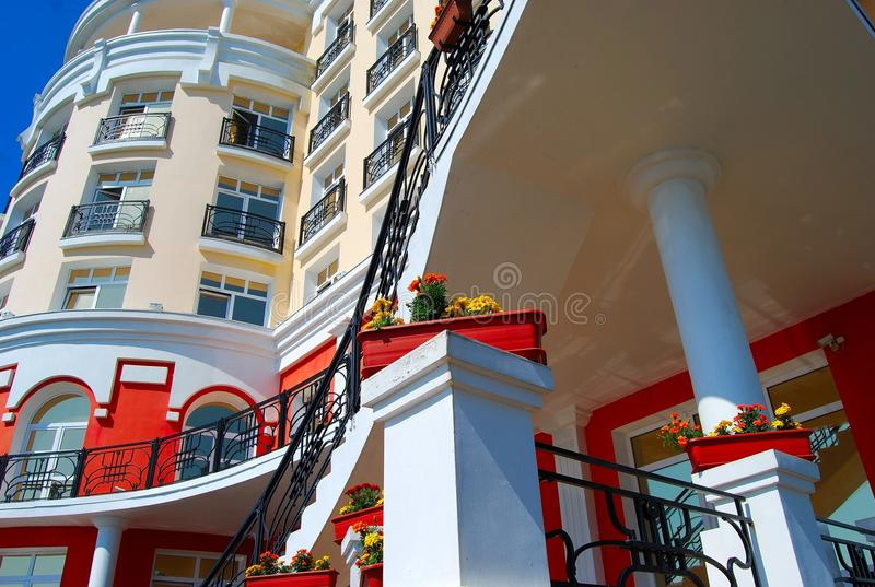 Download Part of the hotel stock photo. Image of deluxe, exterior - 10448510