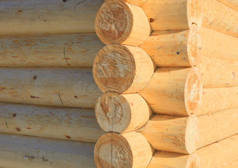 Download Part of the log cabin stock photo. Image of clear, eastern - 13429444