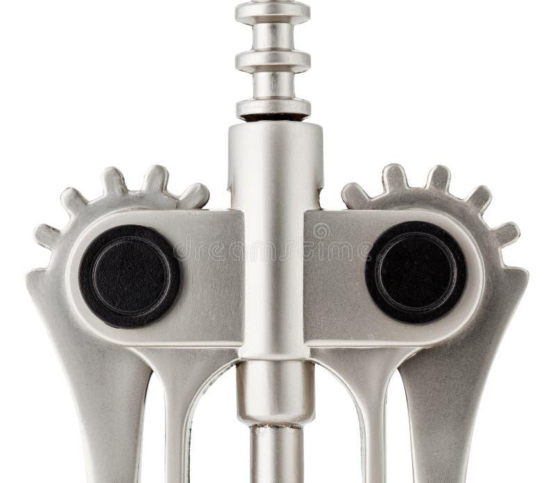 Part Of Metal Mechanic Corkscrew Stock Photos