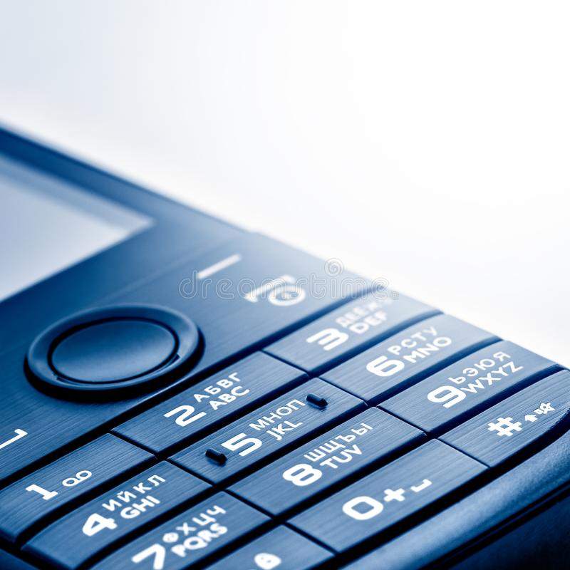 Part of the modern cell phone. stock photo