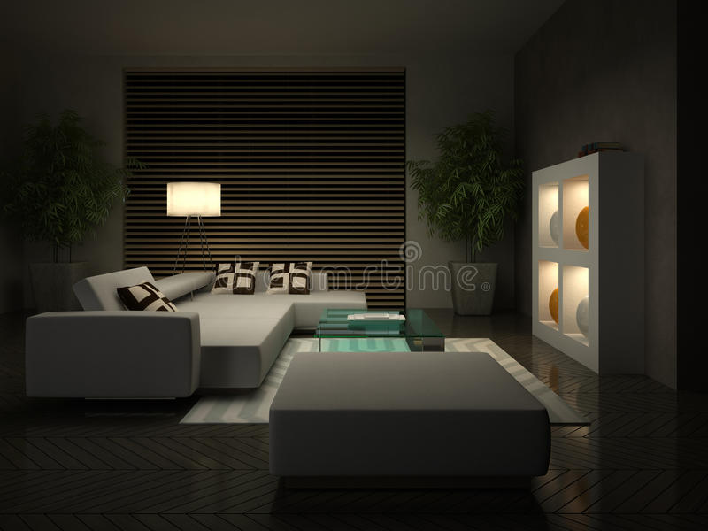 Download Part Of The Modern Interior Stock Illustration - Image: 24800503