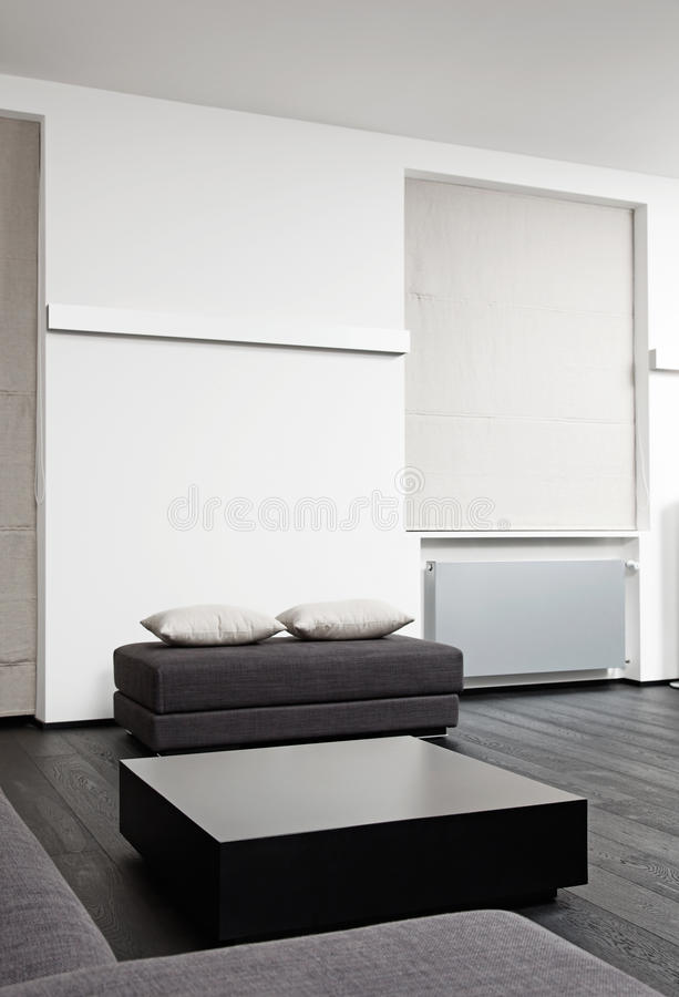Part Of Modern Sitting Room Interior Royalty Free Stock Images