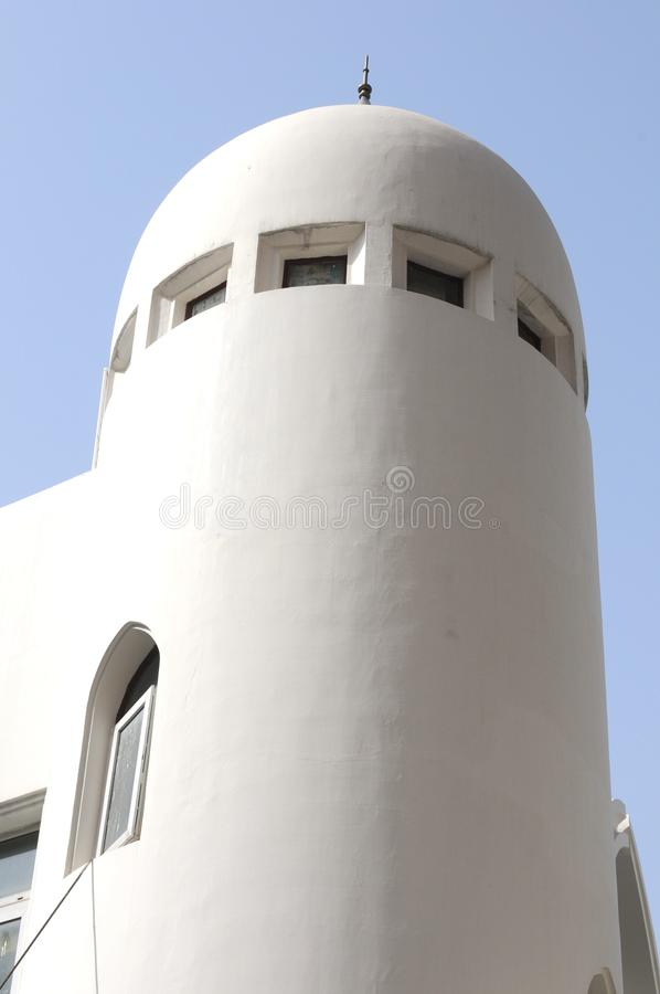A Dome Part Of A Mosque Against Blue Sky Stock Photography