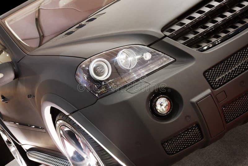 Download Part of new black car stock photo. Image of design, splendour - 8467100
