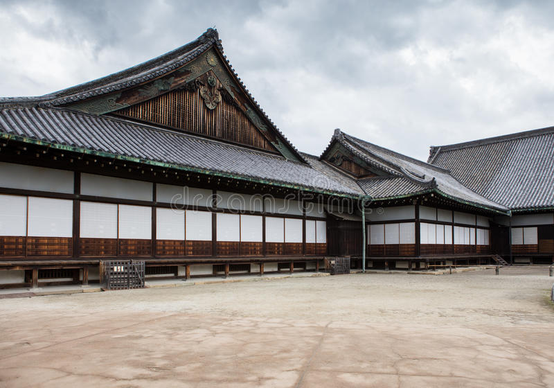 A part of Nijo Castle in Kyoto. stock photography