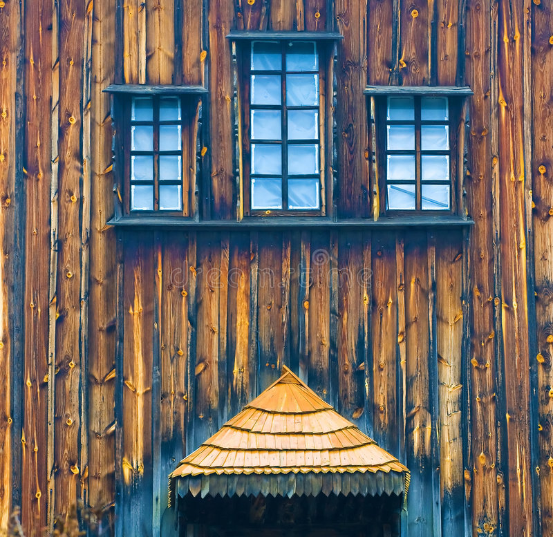 Free Part Of Wooden Church Royalty Free Stock Photography - 4856627