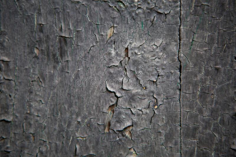 Part of the old purple door wood painted royalty free stock images
