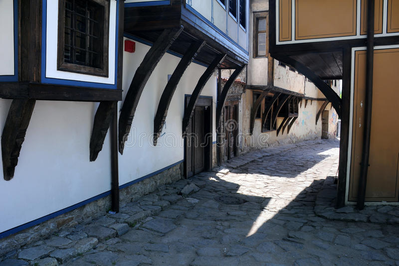 Download Part Of Old Town In Plovdiv Stock Image - Image: 24823511