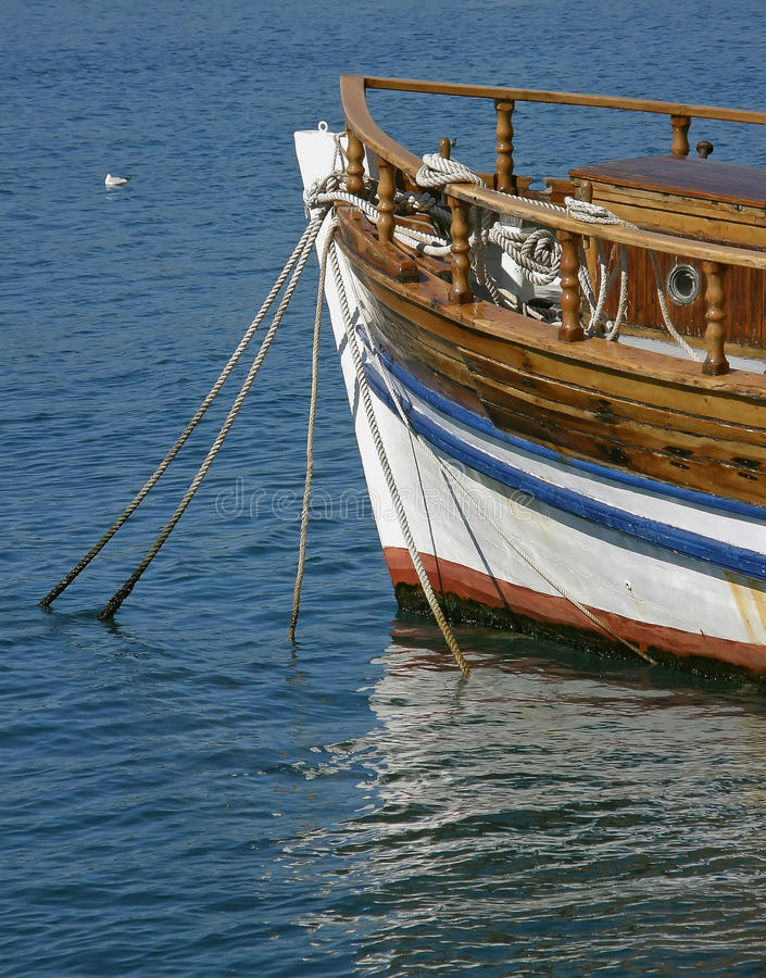 Download Part Of The Old Wooden  Boat Stock Photos - Image: 18133883