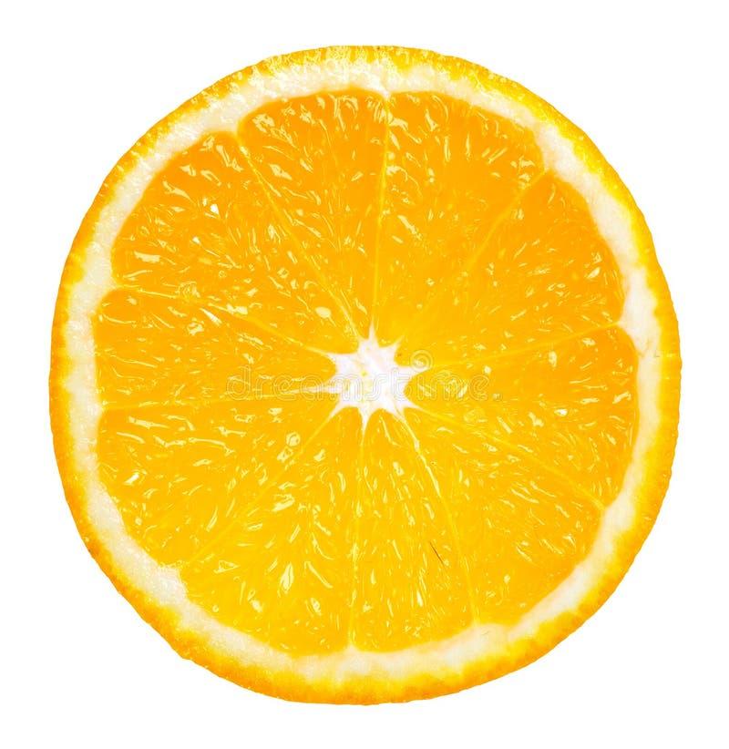 Part orange photo libre de droits
