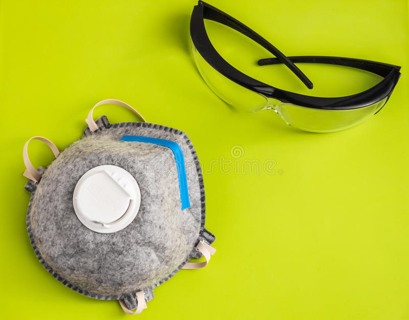 Part of Personal protective equipment royalty free stock photos