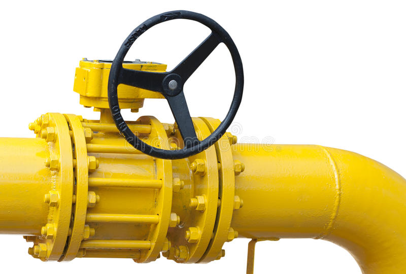 Part of pipe with valve