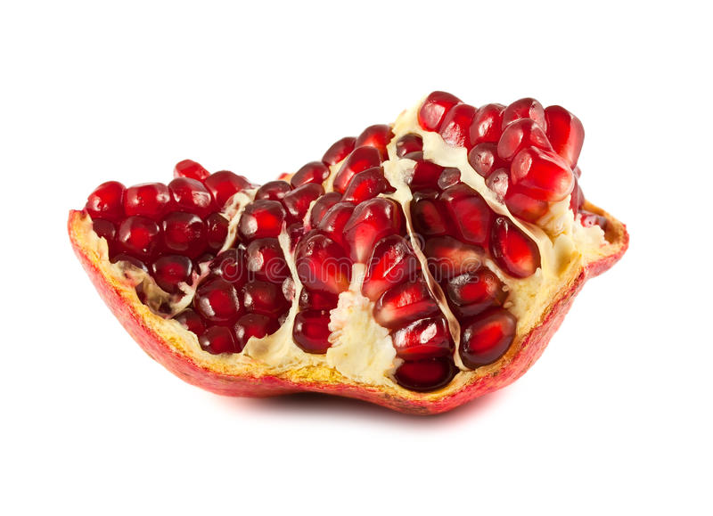 Download Part of ripe pomegranate stock photo. Image of dieting - 22325508