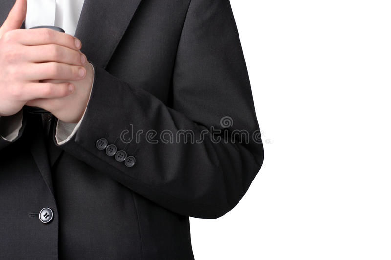 Download Part of suit stock photo. Image of manager, black, formalwear - 26376684