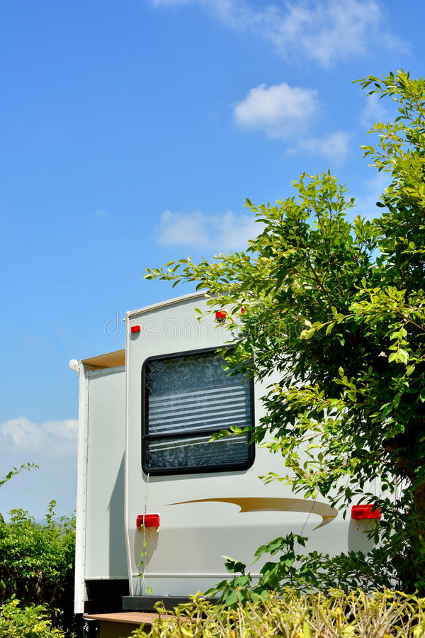 Part Of Travel Trailer Stock Images