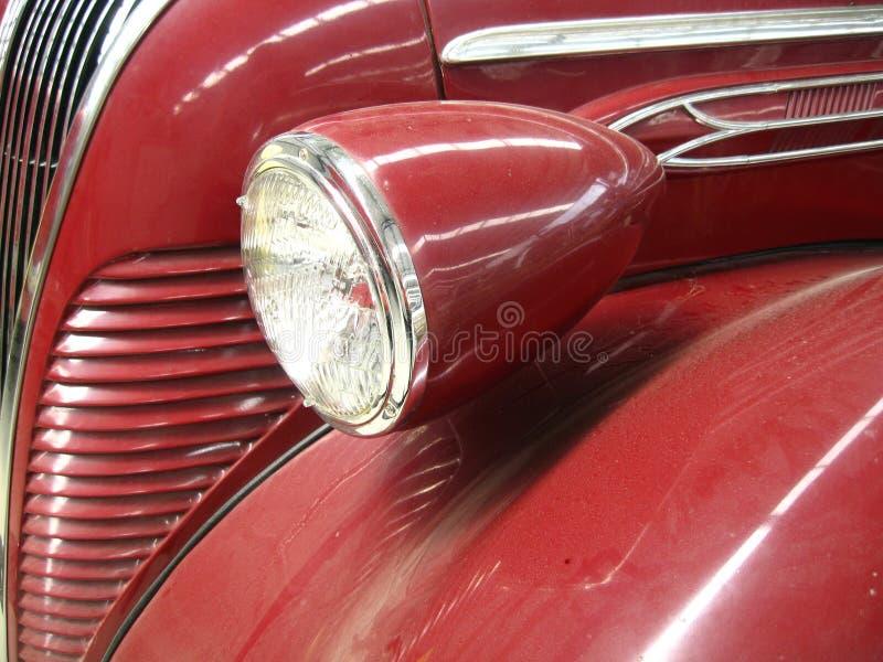 A part of vintage car