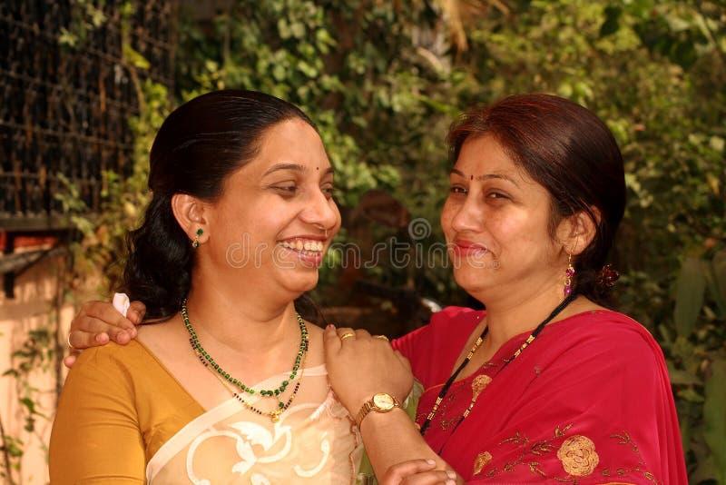 Partage de leur bonheur photos stock
