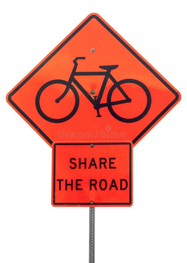 Partagez le panneau routier photos stock