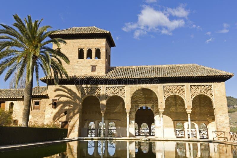 Partal, Alhambra, Grenade images stock
