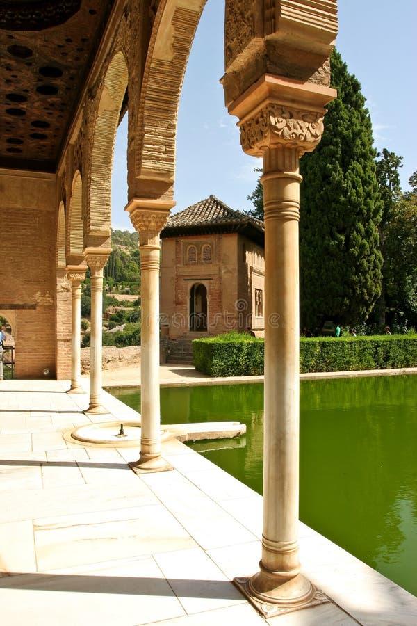 Partal Gärten stockbilder