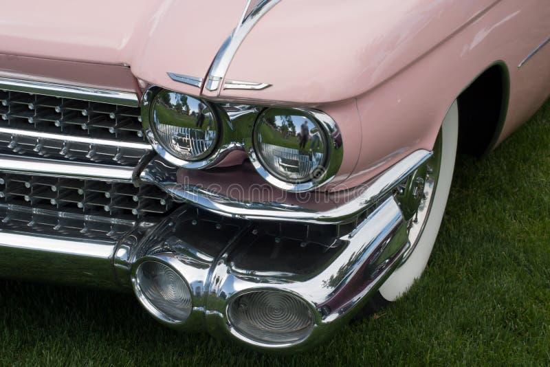 parte anteriore classica dell'automobile fotografie stock libere da diritti