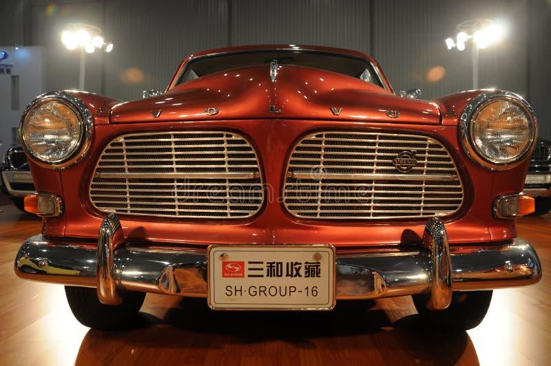 Parte anteriore classica dell'automobile di Volvo fotografia stock
