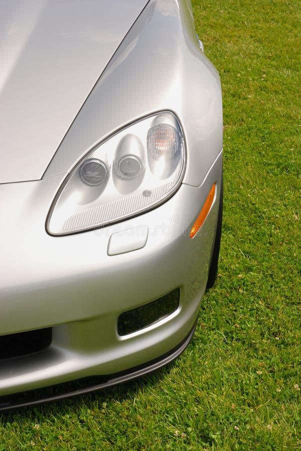 Parte anteriore del Corvette immagini stock libere da diritti