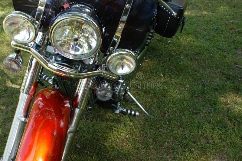 Parte anteriore del motociclo fotografie stock libere da diritti