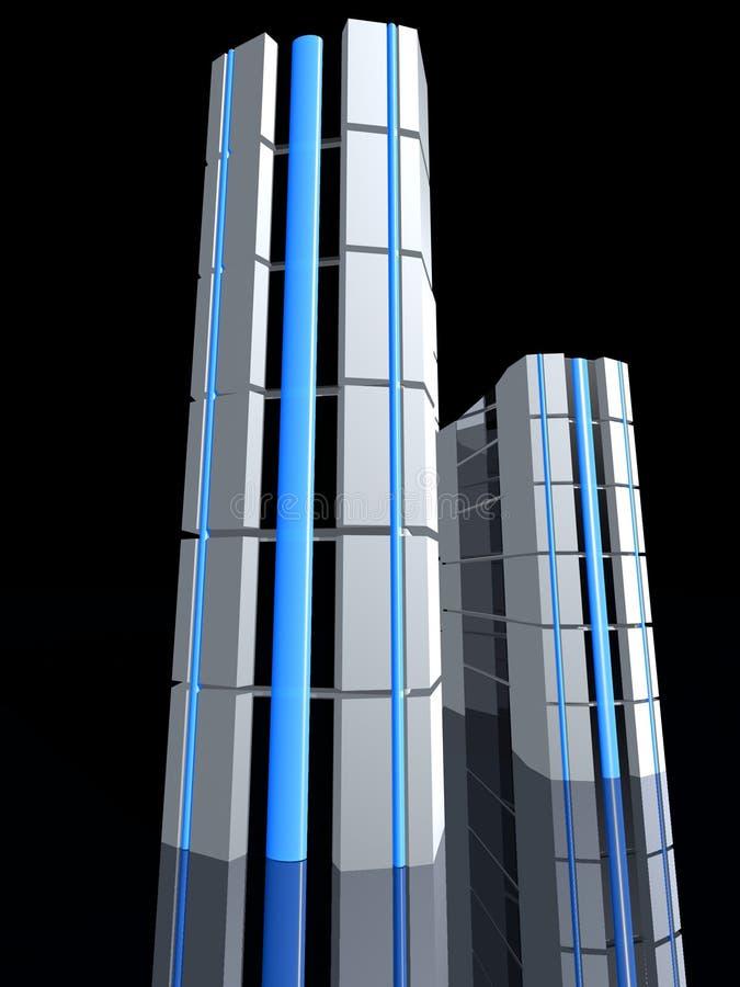 Parte anteriore del server illustrazione di stock