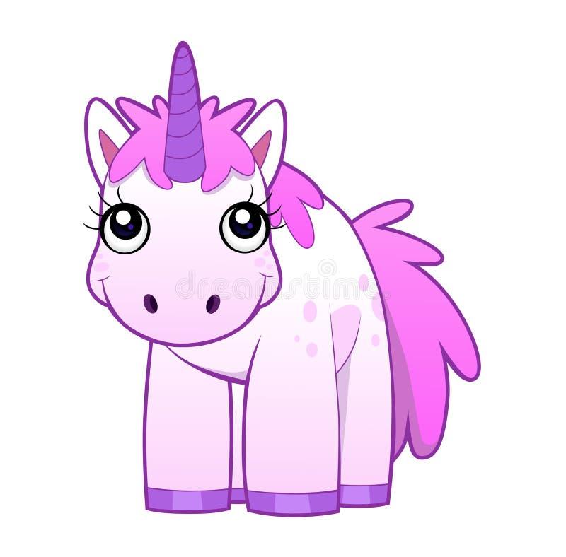 Parte anteriore dell'unicorno royalty illustrazione gratis