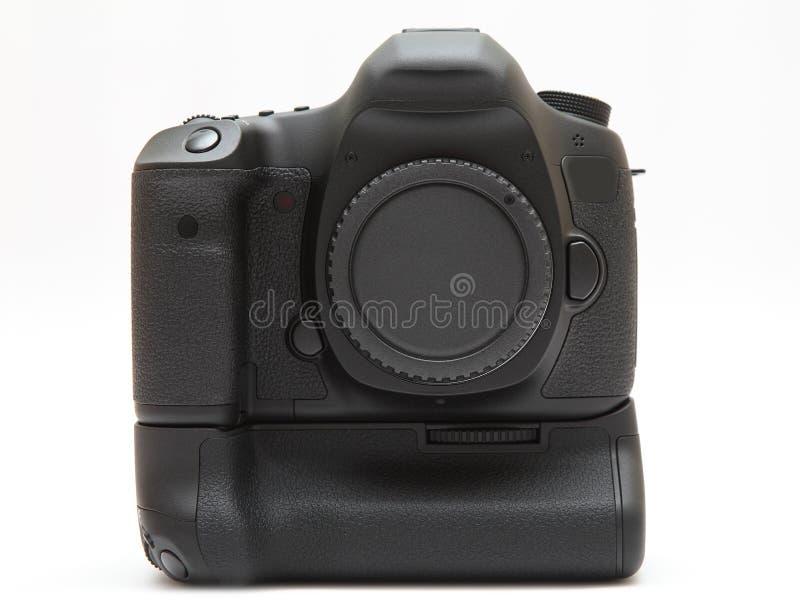 Parte anteriore della macchina fotografica digitale fotografie stock libere da diritti
