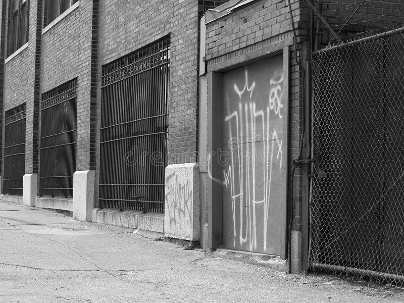 Parte anteriore di costruzione fotografia stock libera da diritti