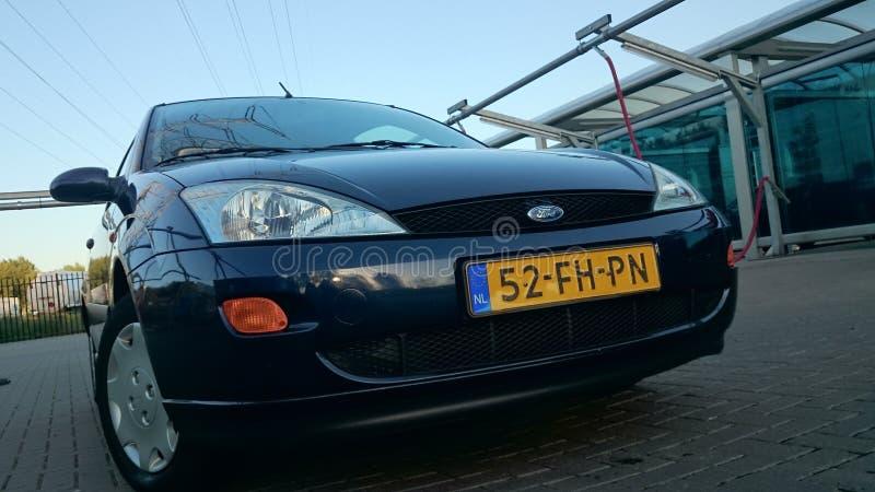 Parte anteriore di Ford Focus I fotografie stock