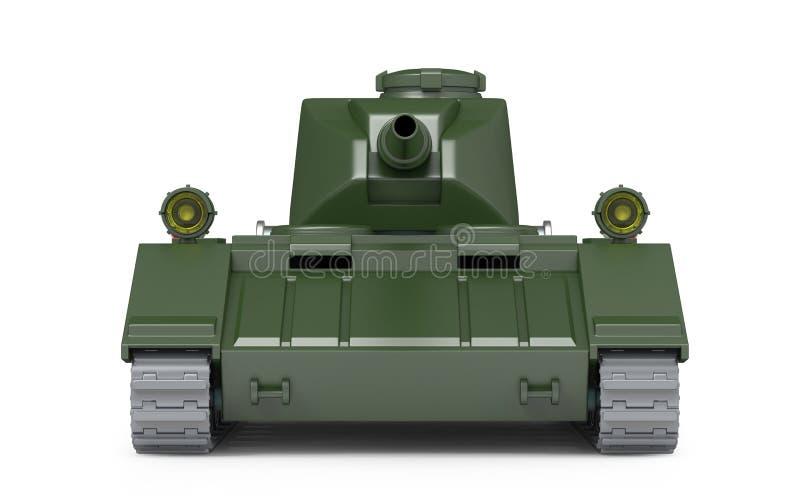 Parte anteriore fantastica pesante del carro armato royalty illustrazione gratis