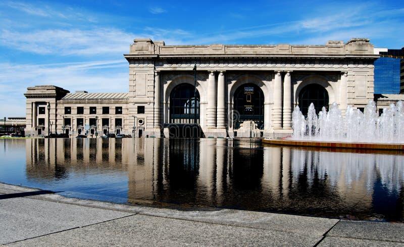 Parte anteriore Kansas del centro della stazione del sindacato fotografia stock libera da diritti