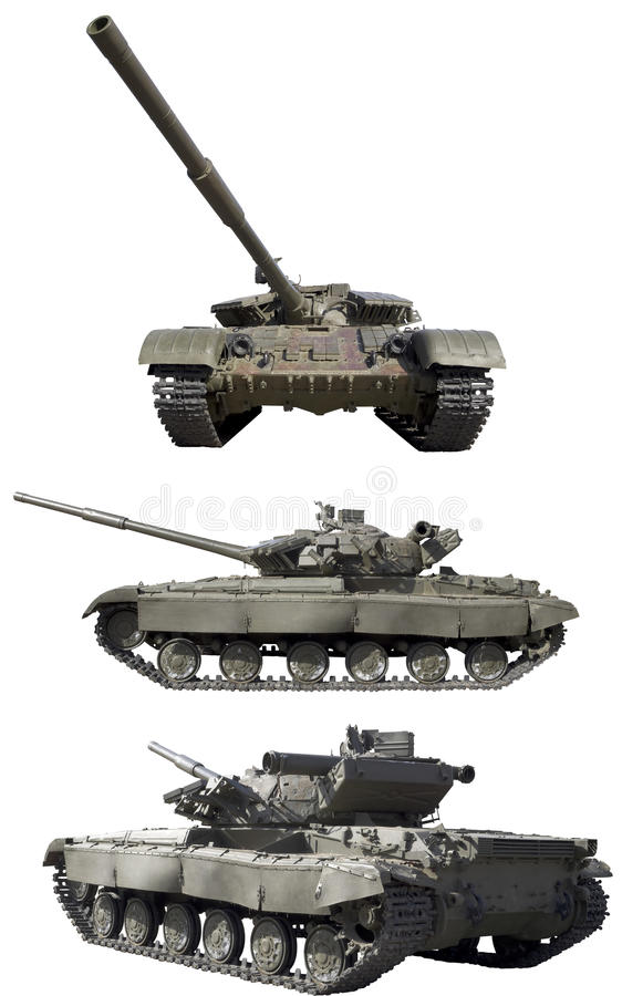 Carro armato isolato