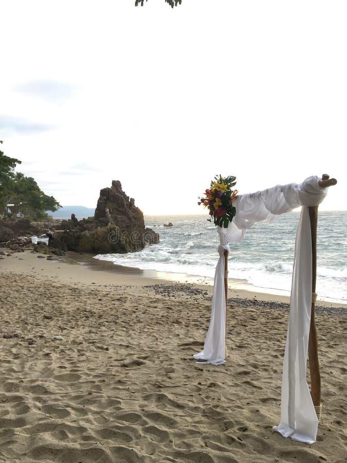 Parte anteriore semplice della spiaggia fotografia stock
