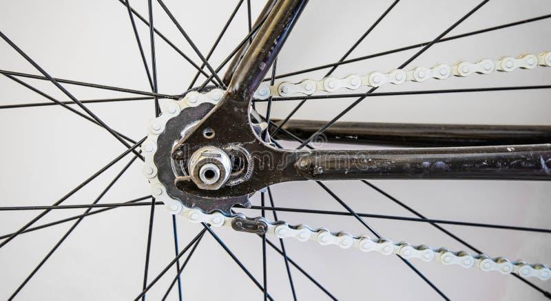 Parte astratta della bicicletta immagine stock libera da diritti